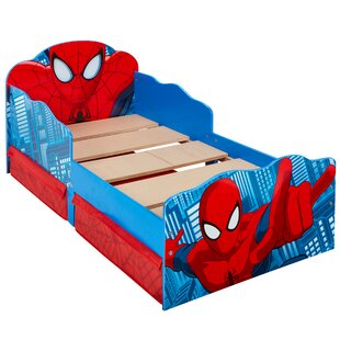 Spider-Man Convertible Toddler Bed With Drawers By Marvel
