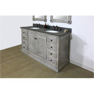 Eunice 60 Double Bathroom Vanity Set By Millwood Pines