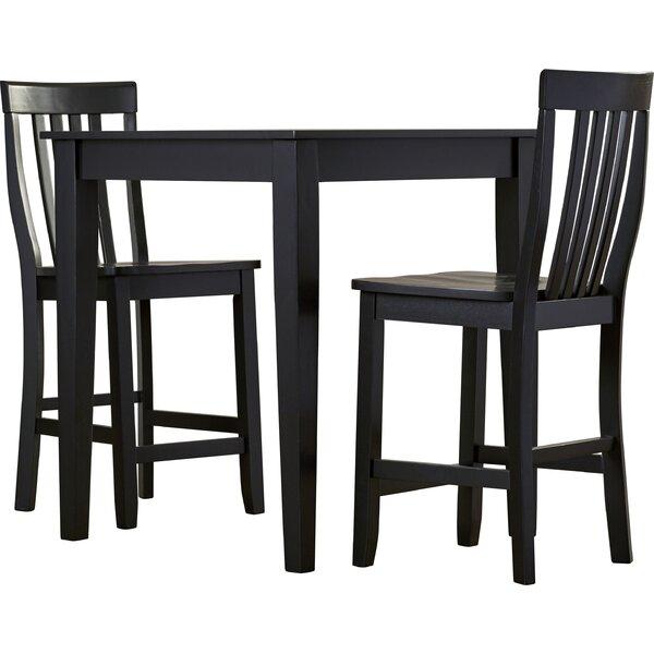 three posts™ haslingden 3 piece pub table set  reviews