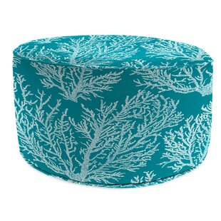 Clapton Bead Fill Pouf Ottoman with Cushion by Highland Dunes