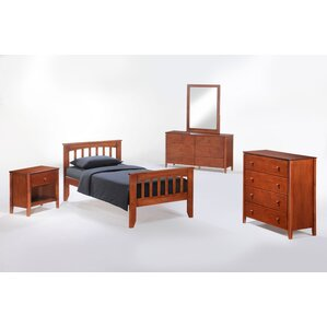 Zest Panel Configurable Bedroom Set by Night & Day Furniture