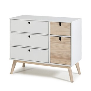 Salma 4 Drawer Combi Chest By Isabelline