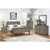 Charissa Louis Philip Queen Sleigh 6 Piece Bedroom Set by Charlton Home