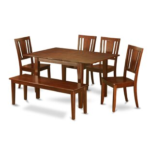 Picasso 6 Piece Extendable Dining Set by ..