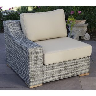 Corsica Left Arm Chair with Cushions
