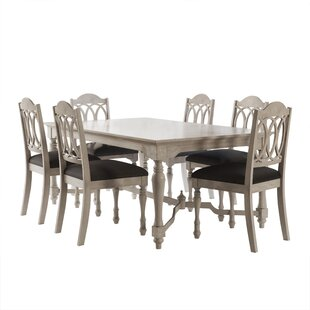 Piazza 7 Piece Dining Set August Grove