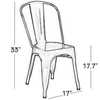 Angie Side Chair (Set of 4) by Williston Forge SKU:CB365098 Reviews
