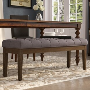 Affordable Price Neumann Wood Bench By Three Posts