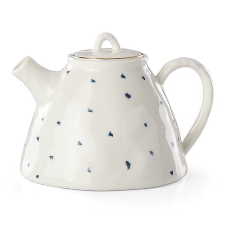 Blue Bay 32 -oz. Porcelain Teapot