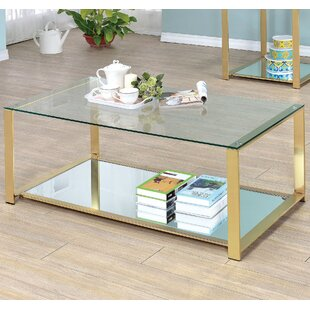 ruchelly metal frame coffee table - Metal Frame Coffee Table