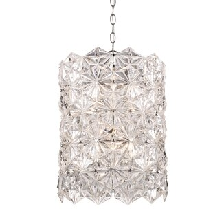 Burton 6-Light Crystal Chandelier by House of Hampton