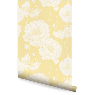 Floral Amp Botanical Yellow Wallpaper You Ll Love In 2019