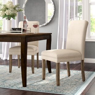 Romeo Upholstered Dining Chairs (Set of 2) Willa Arlo Interiors