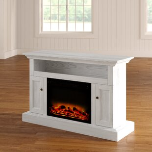 Broncho TV Stand with Fireplace by Alcott Hill