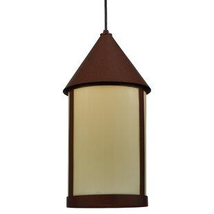 Meyda Tiffany Greenbriar 1-Light Lantern Pendant