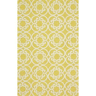 Colley Yellow Indoor/Outdoor Area Rug