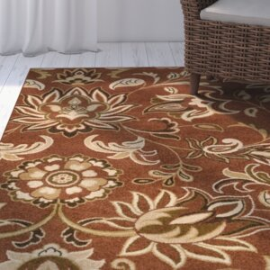 Demetria Floral and Paisley Multi Area Rug