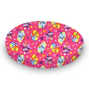 Price Check My Little Pony Fitted Crib Sheet By Sheetworld
