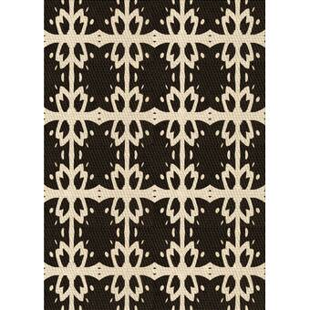 Bungalow Rose Ebright Geometric Handmade Tufted Peacock Area Rug Reviews Wayfair