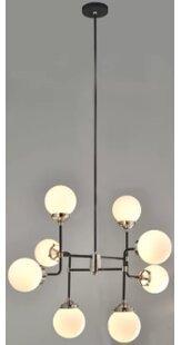 Ivy Bronx Timpson 8-Light Sputnik Chandelier