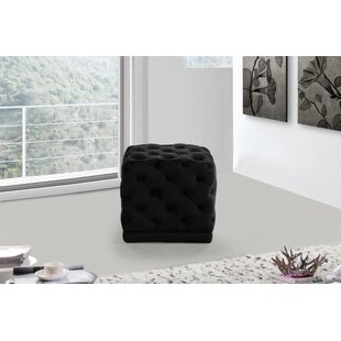 Mercer41 Bonita Tufted Cube Ottoman