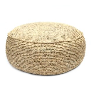 The Raffia Pouffe By Bazar Bizar
