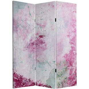 Everardo 3 Panel Room Divider by House of Hampton