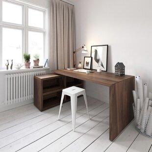 Pranav L-Shape Desk By Corrigan Studio