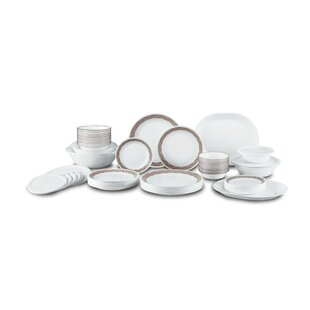 Sand Sketch Living Ware 74 Piece Dinnerware Set Service for 12  sc 1 st  Wayfair : southern dinnerware - Pezcame.Com
