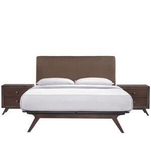 Modesto Platform 3 Piece Bedroom Set