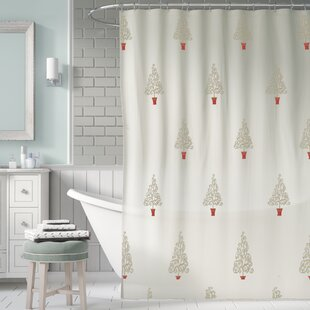 The Holiday Aisle Filigree Forest Shower Curtain