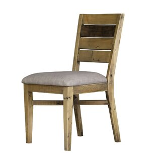 Langner Upholstered Dining Chair (Set of 2) Union Rustic