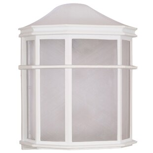 Winston Porter Kammerer 1-Light Outdoor Flush Mount