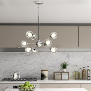 Orren Ellis Rembert 9-Light Chandelier