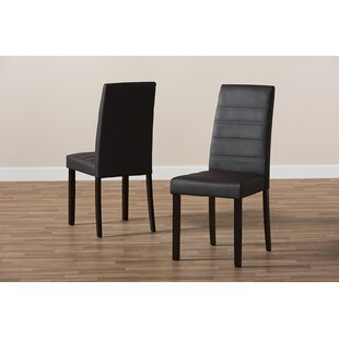 Linde Upholstered Dining Chair (Set of 2) Ebern Designs