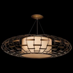 Fine Art Lamps Entourage 3-Light Geometric Chandelier