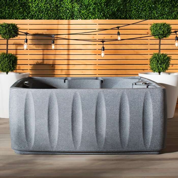 Incredible Elite 600 6 Person 29 Jet Plug And Play Hot Tub With Ozone And Led Waterfall Uwap Interior Chair Design Uwaporg