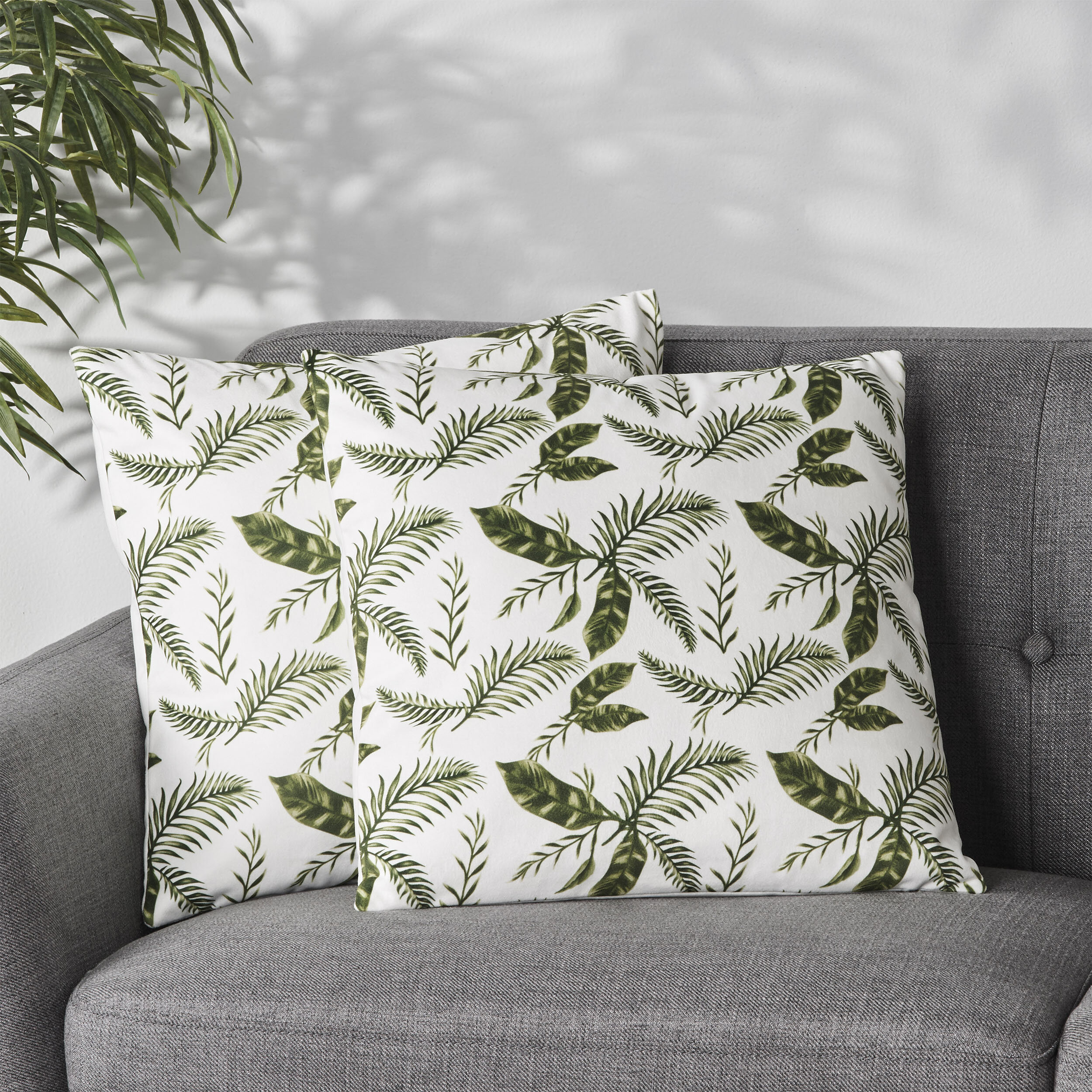 Bay Isle Home Mazzola Floral 18 Throw Pillow Cover Wayfair