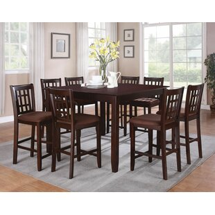 Lovins 9 Piece Pub Table Set Red Barrel Studio