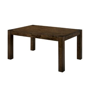 Staveley Transitional Solid Wood Dining Table by Gracie Oaks