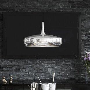 Clava Dine Aluminum 1-Light Hardwired Pendant by Umage
