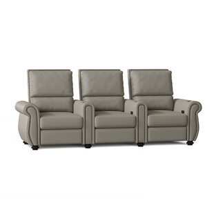 Home Theater Sofa Row of 3 by Red Barrel Studio
