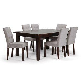 Washtenaw 7 Piece Solid Wood Dining Set