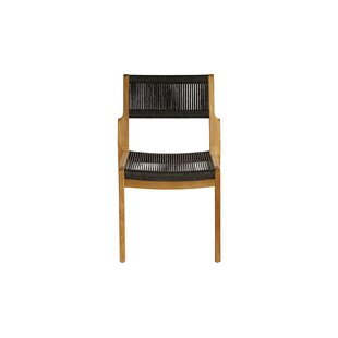 Skagen Stacking Teak Patio Dining Chair by OASIQ Fresh