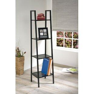 Winston Porter Oyer 4 Tier Ladder Bookcase