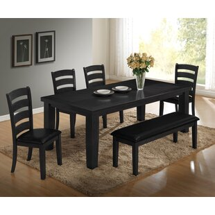 Bodie 6 Piece Dining Set by Loon Peak