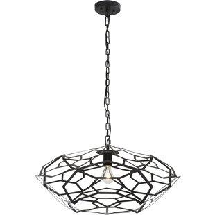 Wrought Studio Chavarria 1-Light Geometric Pendant