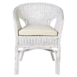 Daisy Rattan Armchair by Jeffan