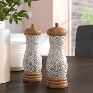 Chatteris Ceramic 2 Piece Salt & Pepper Set