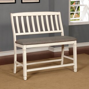Brynlee Wood Bench by High..